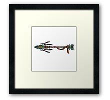 Eagle Spear - tokyo Framed Print
