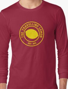 The Travelling Lemon est. 2011 Long Sleeve T-Shirt