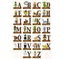 Mythical Creatures Alphabet Photographic Print