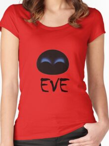 Eve Wall E Women's Fitted Scoop T-Shirt