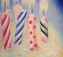 Birthday Candles by John Klein