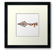 Eagle Spear -  Mosaic Framed Print