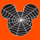 Mickey Mouse dressed as a spider by sweetsisters