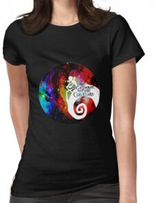 Jack Nightmare Before Christmas Moon Womens Fitted T-Shirt