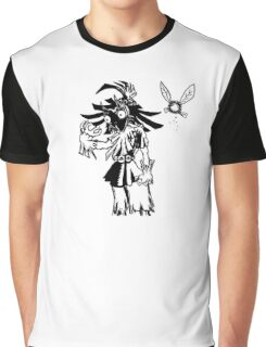 Skull Kid Graphic T-Shirt