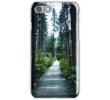 Algonquin board walk iPhone Case/Skin