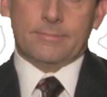 Michael Scott - The Office Sticker