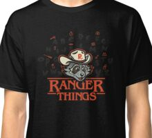 Raccoon Ranger and his Camping Things Classic T-Shirt