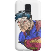 The Man of Steel Character Collage Samsung Galaxy Case/Skin