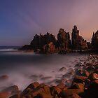 Moondance - Pinnacles  Phillip Island by Mark Shean