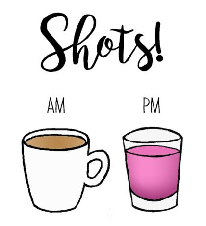 Shots  Sticker