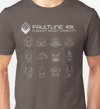 Faultline 40k   League of Frenemies   White Unisex T-Shirt