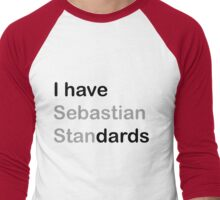 I HAVE (sebastian) STANDARDS Men's Baseball ¾ T-Shirt