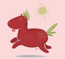 Strawberry Horse Kids Tee