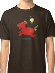 Strawberry Horse Classic T-Shirt