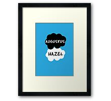 Augustus & Hazel - TFIOS Framed Print