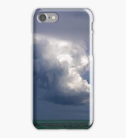Storm cloud over Atlantic iPhone Case/Skin