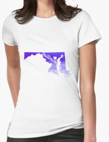 Baltimore Womens Fitted T-Shirt