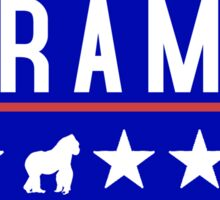 Harambe for President 2016 Sticker