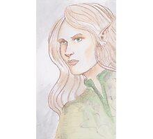 Watercolor Elf Photographic Print