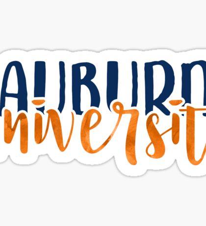 Auburn - Style 1 Sticker
