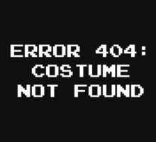 404 Error : Costume Not Found by DesignFactoryD