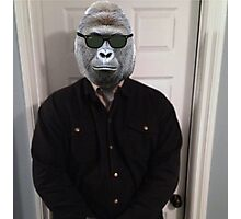 Bouncer Harambe Photographic Print