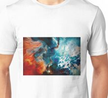 Lava and water Unisex T-Shirt