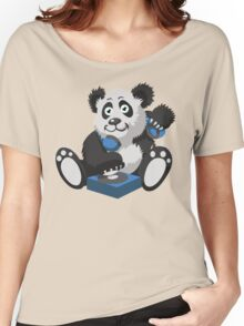 DJ Panda Women's Relaxed Fit T-Shirt