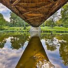 Covered Bridge Underbelly by Kenneth Keifer