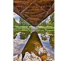 Covered Bridge Underbelly Photographic Print
