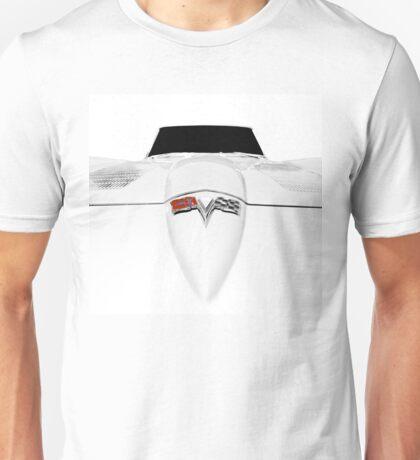 1963 Corvette C2 - hood detail Unisex T-Shirt
