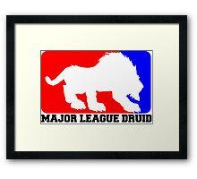 Major League Druid: Feral DPS Framed Print