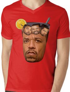 Just Some Ice Tea and Ice Cubes Mens V-Neck T-Shirt