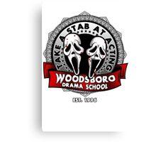 Woodsboro Drama School Canvas Print
