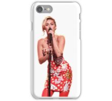 Miley Cyrus performing on Jimmy Fallon  iPhone Case/Skin