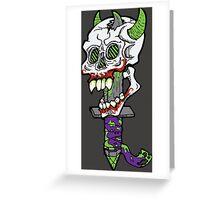 The Darkest Knight Greeting Card