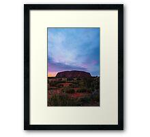 Ayres Rock - Uluru Framed Print