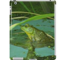 Frog on a Lily Pad  iPad Case/Skin