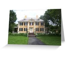 Longfellow House Greeting Card