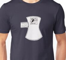 Axe-O-Holics Anonymous Axe Head Black Raven  Unisex T-Shirt