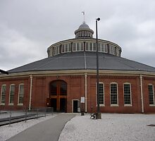 B&O Railroad Museum, Baltimore, Maryland by nealbarnett