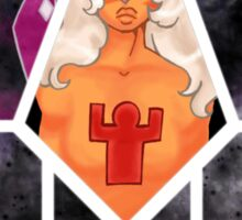 Steven Universe - Jasper - Of Earth Sticker