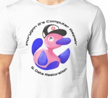 Porygon 2's Computer Repair and Data Restoration Unisex T-Shirt