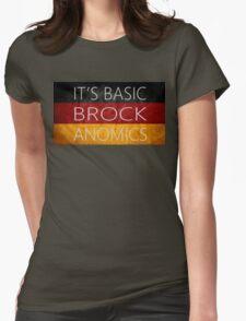 Basic Brockanomics Womens Fitted T-Shirt