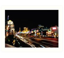 Las Vegas Strip 2 Art Print