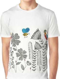 Flower Garden 2 Graphic T-Shirt