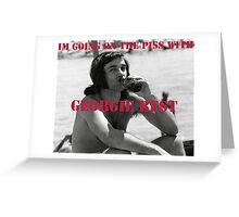 george best, spirit in the sky Greeting Card