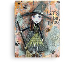 ADVENTURE WITCH Metal Print