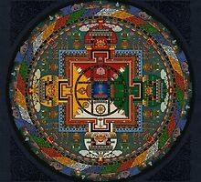 Mandala of Yamantaka by Deanna Gardam